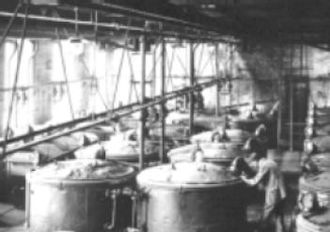 IG Farben - Indigo production at BASF in 1890