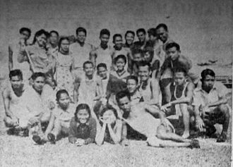 Indonesia at the 1956 Summer Olympics - Indonesian Olympic hopefuls in July 1956