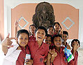 Indonesian kids in Museum.jpg
