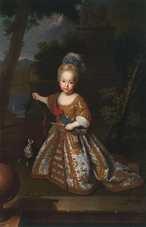 Philip of Spain (1712–1719) - Image: Infante Felipe Pedro de España