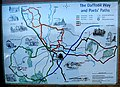 Information board at Kempley with map - geograph.org.uk - 607740.jpg