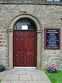 Inglewhite Congregational Church, Doorway - geograph.org.uk - 912048.jpg