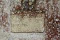 Inscription du mur nord de l'église Saint-Golven (Taupon, Morbihan, France).jpg
