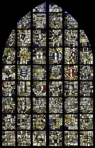 Datei:Interieur, gebrandschilderde glazen - De Mozaïekglazen, glas ...