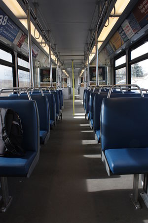 CTrain - Interior of Siemens SD-160