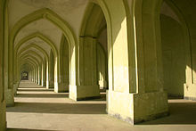 Interior of Kabul Eidgah Mosque.jpg