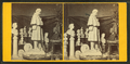 Interior of Milmore's studio, showing design of soldier's monument for the city of Roxbury, from Robert N. Dennis collection of stereoscopic views.png