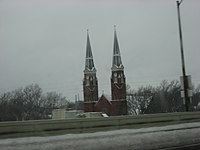 Interstate view of St. Joseph's, Topeka.jpg