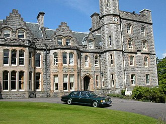 William Scarlett, 3rd Baron Abinger - The building today known as Inverlochy Castle Hotel was listed as Scarlett's main home at the time of admission into university.