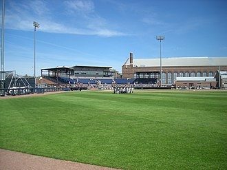 Ray Fisher Stadium - Image: Iowa vs. Michigan baseball 2013 29 (Ray Fisher Stadium)