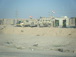 Iraqi Light Armored Vehicle - Image: Iraqi Army Checkpoint