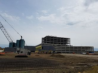 Toyota Music Factory - Venue shown during construction (c.2017)