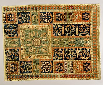 "Charbagh - Charbagh on an incomplete Persian ""garden carpet"", 17th century"
