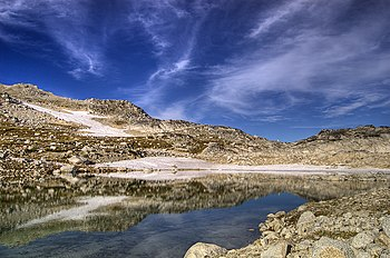 Isolation Lake, Enchantment Lakes, Chelan Coun...