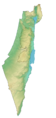 Israel Wikivoyage map.png