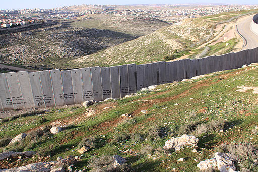Israeli West-Bank barrier Ramallah