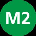 Istanbul M2 Line Symbol.png