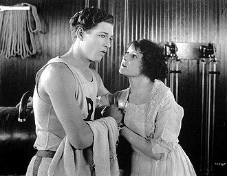 Cullen Landis - Landis with Clara Horton in It's a Great Life (1920)