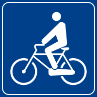 Image:Italian traffic signs - attraversamento ciclabile 2.svg