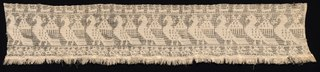 Fragment of a Border with Repeated Pattern of Fantastic Winged Animals