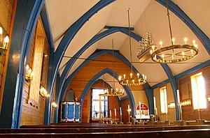 Ittoqqortoormiit - Inside Ittoqqortoormiit Church