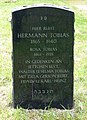 Jüdischer Friedhof Köln-Bocklemünd - Grabstätte Hermann Tobias (2).jpg