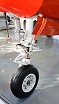 JASDF B-65(03-3094) nose landing gear left front view at Hamamatsu Air Base Publication Center November 24, 2014 02.jpg