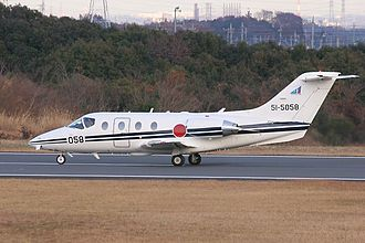 Hawker 400 - JASDF T-400 at Iruma Air Base