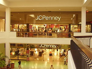 J. C. Penney - JCPenney in Aventura Mall in Aventura, Florida in February 2006.