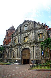 Pila Church Church in Laguna, Philippines