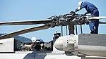 JMSDF SH-60K(8426) rotorhead & accessory gearbox at Maizuru Air Station July 26, 2015.jpg
