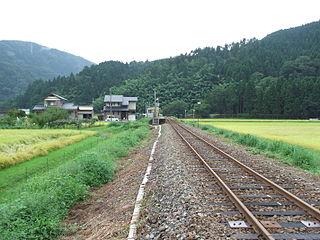 Ichijōdani Station Railway station in Fukui, Fukui Prefecture, Japan