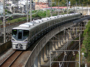 225 series - The first 225-0 series unit delivered, May 2010