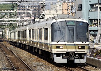 221 series - A 221 series formation in March 2008
