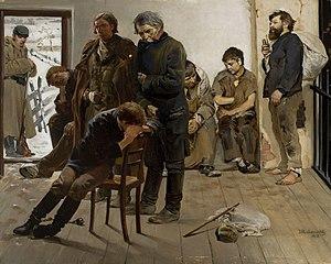 The prisoners (Road to Siberia)