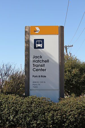 Jack Hatchell Transit Center - Image: Jack Hatchell Transit Center Sign