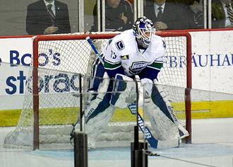 Jacob Markström - Markström playing for the Utica Comets