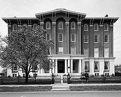 Jacobs Hall, Kentucky School for the Deaf, South Third Street, Danville (Boyle County, Kentucky).jpg