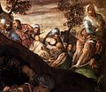 Jacopo Tintoretto - The Miracle of the Loaves and Fishes (detail) - WGA22567.jpg