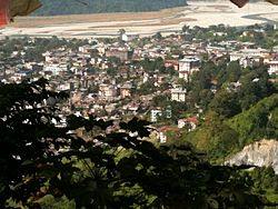 Jaigaon from the Gumba hill