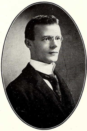 James M. Farr - Farr from the 1911 Seminole yearbook