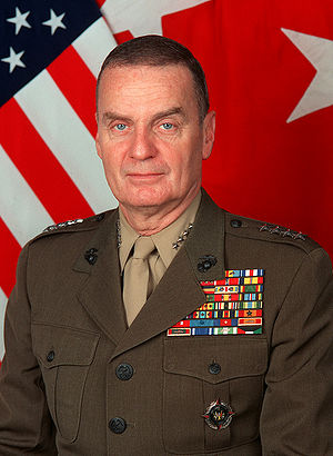 James L. Jones, US National Security Advisor