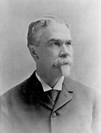 "Federal Triangle - Senator James McMillan, who led the commission which wrote the ""McMillan Plan"" for guiding the development of Washington, D.C."