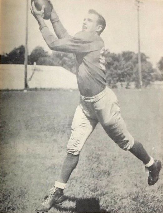 James R. Doran - 1953 Detroit Lions NFL World Champions Football Photo Album Year Book (cropped)