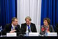 Jan Vapaavuori nordisk samarbetsminister Finland och Karen Ellemann miljo- och nordisk samarbetsminister Danmark. Nordiska radets session 2010.jpg