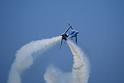 Japan air self defense force Kawasaki T-4 Blue Impulse RJST Tac Cross I.JPG