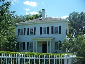 San Marco (Jacksonville) - The Red Bank Plantation House, now a private residence in San Marco