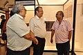 Jayanta Sengupta Visits With Shrikant Pathak And Manash Bagchi - Objects In CRTL Archive Exhibition - NCSM - Kolkata 2018-05-18 0720.JPG