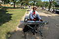 Jazz piano variations on We shall overcome by a Washington DC musician - 50th Anniversary of the March on Washington for Jobs and Freedom.jpg
