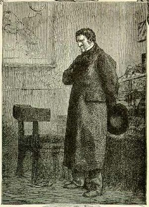 Jean Valjean - Jean Valjean disguised as Monsieur Madeleine. Illustration by Gustave Brion.